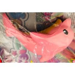 Squigies delfin różowy