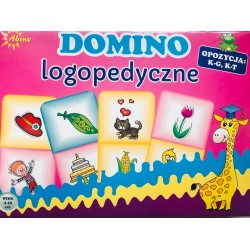 Domino logopedyczne K-G, K-T
